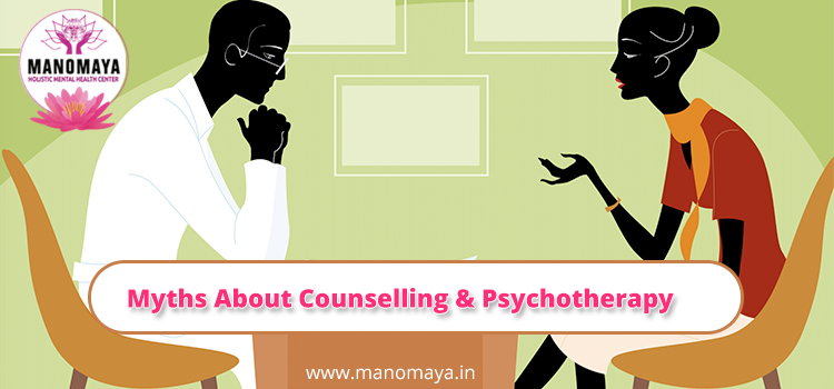 Myths about Counselling And Psychotherapy