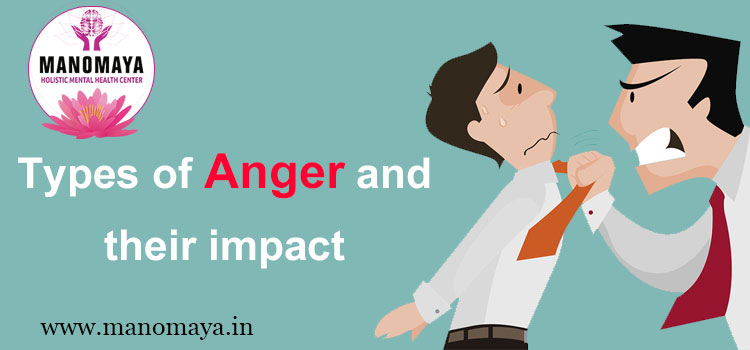 Types of Anger and their impact