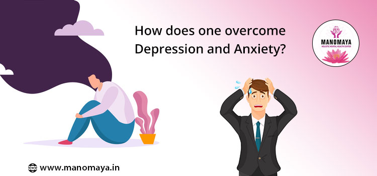 How does one overcome depression and anxiety?